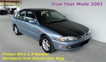 2001 PROTON WIRA 1.3 Aeroback (M) Car King One Owner