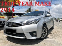2014 TOYOTA ALTIS 1.8 (A) 4XKM 1 CAREFUL OWNER 4 NEW TYRE