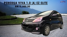 2012 PERODUA VIVA 1.0AT EZ  ELITE