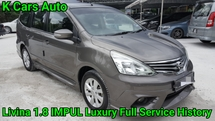 2016 NISSAN GRAND LIVINA IMPUL 1.8L (A) FULL SERVICE BY NISSAN EXCELLENT CONDITION FULL LOAN
