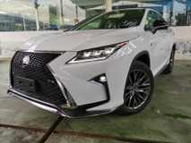 2017 LEXUS RX 2017 Lexus RX200 F Sport Japan Spec Unregister for sale