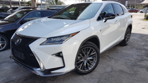 2017 LEXUS RX 200T F Sport SR HUD Radar LKA Unreg Sale Offer