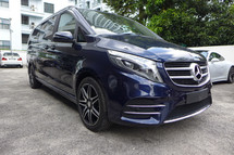 2017 MERCEDES-BENZ V-CLASS V250D AMG LINE - EXTRA LONG
