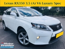 2011 LEXUS RX 350 3.5 CC  (A) V6 SUV Full Leather Power Boot Sunroof RX270 RX350