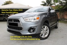 2013 MITSUBISHI ASX 2.0 (A) Panaromic Roof (Facelift Enhanced Edition)(Low Mileage 27k Km Only)(Full Service Record)