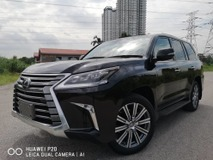 2018 LEXUS LX570 5.7 (A) Fully Loaded Demo Unit