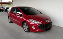 2013 PEUGEOT 308 1.6 Turbo Panoramic 6 Speed Auto Facelift