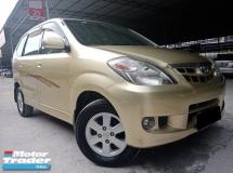 2009 TOYOTA AVANZA Toyota Avanza 1.3 AT VVTI TIP TOP CONDITION 1 OWNER