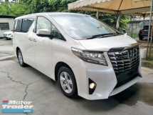 2016 TOYOTA ALPHARD 2.5 8 SEATER POWER BOOT 360 VIEW CAMERA 2 POWER DOOR
