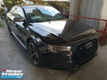 2015 AUDI S5 Black Edition Push Start MMI2 Rear Camera Unreg Local AP
