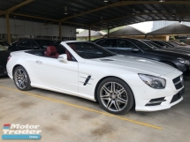 2015 MERCEDES-BENZ SL SL350 SL400 AMG 3.0 Twin Turbocharged 328hp 7G-Tronic Panoramic Roof 2 Memory Bucket Seat Active Suspension Body Control Full Intelligent LED Light Multi Function Paddle Shift Steering Bluetooth Connectivity Reverse Camera Unreg