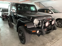 2014 JEEP WRANGLER 3.6 PETROL JAPAN SPEC UNREG