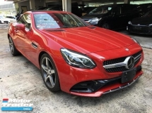 2016 MERCEDES-BENZ SL-CLASS SLC 180 1.6 AMG JAPAN SPEC UNREG