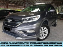 2018 HONDA CR-V CR-V 2.0(A) DEMO UNIT FULL RECORD SERVICE L.MILEAGE UNDER WARRANTY HONDA