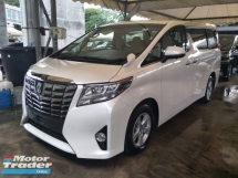 2016 TOYOTA ALPHARD 2.5 8 SEATER 360 VIEW CAMERA POWER BOOT POWER DOOR 1 YEAR WARRANTY LOCAL AP