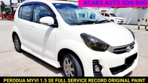 2015 PERODUA MYVI 1.5 SE MODEL FACELIFT FULL SERVICE RECORD