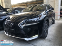 2017 LEXUS NX Unreg Lexus NX200T 2.0 Turbo Camera F Sport Paddle Shift 6Speed Keyless Push Start