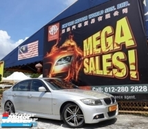 2009 BMW 3 SERIES 325i M-SPORT FACELIFT !! I-DRIVE !! PADDLE SHIFT !! E90 MODEL !! SMART ENTRY !! FULL HIGH SPECS !! ( WXX 28 ) 1 CAREFUL OWNER !!