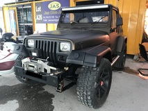 1997 JEEP WRANGLER JEEP WRANGER YJ MANUAL 2.5 PETROL , RUNNING GOOD CONDITION