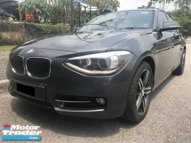 2013 BMW 1 SERIES 118I 25TH ANNIVERSARY SPORT EDITION , 1.6 TURBO , 1 VIP OWNER , FULL SERVICE RECORD , ORI PAINT , YEAR END SALE