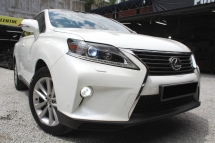 2012 LEXUS RX350 RX350  F/LIFT SROOF PBOOT