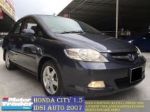 2007 HONDA CITY idsi 1.5  ( A ) TIPTOP LIKE NEW!!!