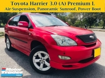 2005 TOYOTA HARRIER 3.0L V6 (A) AIRS Premium L Panoramic Roof Power Boot SUV