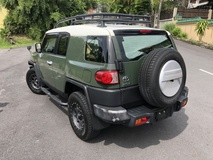 2014 TOYOTA FJ CRUISER 4.0 Off Road Package Roof Rack Army Green Japan Hummer