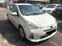 2013 TOYOTA PRIUS C 1.5 HYBRID (A) ONE LADY OWNER