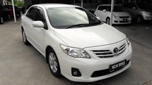 2011 TOYOTA ALTIS 1.6 FACELIFT (A) - One Careful Owner