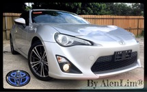 2013 TOYOTA 86 2.0 (UNREG) INT BLACK SPORT MODE PADDLE SHIFT