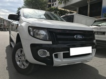 2014 FORD RANGER 2.2 (MT)  XLT TDCI 4X4 DOUBLE CAB DIESEL TURBO CANOPY PICK-UP