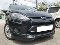 2013 FORD FIESTA 1.6 (AT) LX SEDAN FULL BODYKIT 100% FULL LOAN