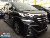 2015 TOYOTA VELLFIRE 2.5ZG 7seat Recon unregistered.👍 10%dpayment