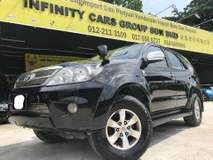 2007 TOYOTA FORTUNER 2.7V TRD SPORTIVO PREMIUM LEATHER SEAT