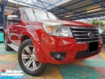 2011 FORD EVEREST Ford EVEREST 3.0 XLT 4WD 7SEAT FORTUNER Q7 PAJERO