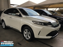 2017 TOYOTA HARRIER HARRIER PREMIUM FACELIFT  P-ROOF POWER BOAT FULL VIEW CAMERA