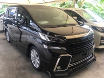 2016 TOYOTA VELLFIRE 2.5 Z A EDITION MPV POWER BOAT FULL VIEW CAMERA