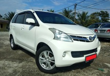2013 TOYOTA AVANZA 1.5S (A) LEATHER SEAT 1 OWNER