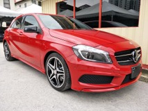 2013 MERCEDES-BENZ A-CLASS MERCEDES BENZ A180 AMG NIGHT EDITION 1.6 TURBO