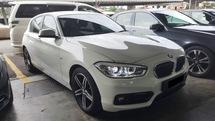 2017 BMW 1 SERIES 118I 1.5 Twin Turbo FACELIFT UW22