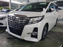 2015 TOYOTA ALPHARD 2015 Toyota Alphard 3.5 SAC Pilot Seat Power Boot Unregister for sale