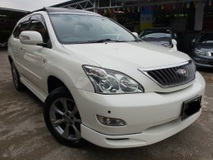 2008 TOYOTA HARRIER 240G PREMIUM L PACKAGE PANOMARIC ROOF POWER BOOT SURROUND CAMERA