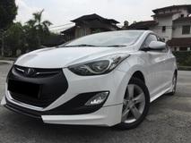 2013 HYUNDAI ELANTRA 1.6 GLS AUTO