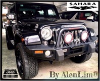 2014 JEEP WRANGLER SAHARA 2 DOOR 3.6P (UNREG) ARB BAR ROOF RACK