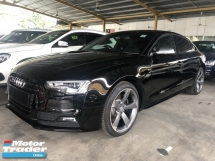 2015 AUDI S5 3.0 Turbocharged Black Edition Sport Back Push Start Button MMi 3 Bang Olufsen Surround System Bucket Seat Daytime Bi Xenon Light Multi Function Paddle Shift Steering Zone Climate Control Bluetooth Connectivity Unreg