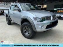 2014 MITSUBISHI TRITON 2.5 MT 4X4 FACELIFT POWERFULL NO OFF ROAD ONE OWNER