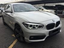 2017 BMW 1 SERIES 118I 13K KM Done Full Service Under Warranty