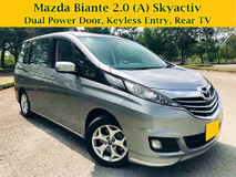 2014 MAZDA BIANTE 2.0 (A) Skyactiv G Dual Power Door 7 Seater MPV