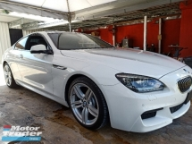 2013 BMW 6 SERIES 640I COUPE 3.0 M-SPORT UNREG JP SPEC CLEARANCE SALES AT RM258,000.00 NEGO
